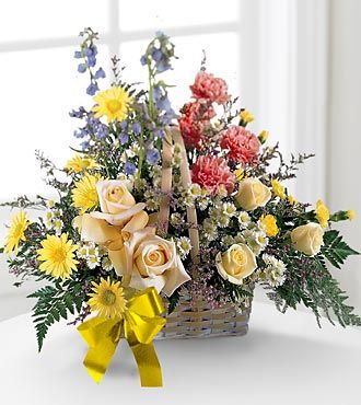 Ftd Loving Remembrance Basket Same Day Delivery