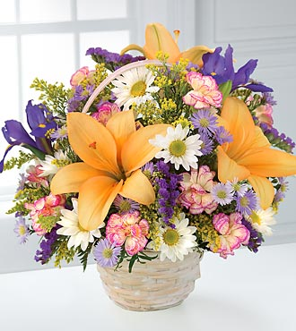 Natural Wonders Bouquet by FTD - C12-3434