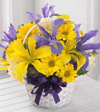 FTD Spirit of Spring Basket - DELUXE