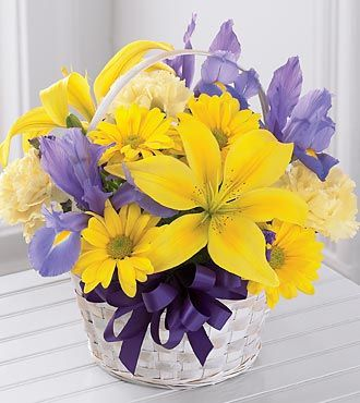 Flowers Fast coupon: FTD Spirit of Spring Basket
