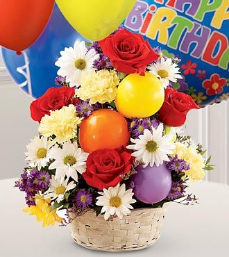FTD Birthday Cheer Basket - DELUXE