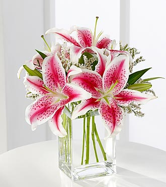 Pink Lily Bouquet by FTD