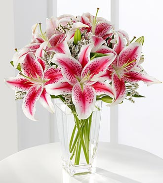 Pink Lily Bouquet By Ftd Birthday Flowers Flowers Fast