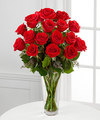 Image of Deluxe version for Long Stem Red Rose Bouquet by FTD