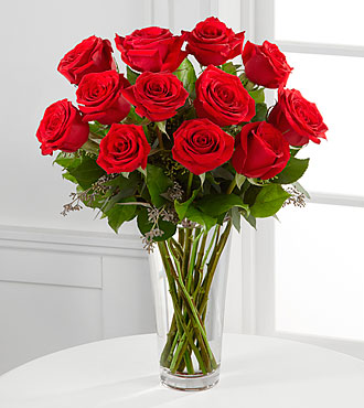 Long Stem Red Rose Bouquet by FTD - E2-4305