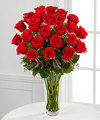 Image of Premium version for Long Stem Red Rose Bouquet by FTD