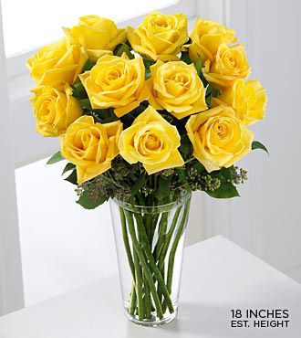 yellow roses pictures. FTD Long Stem Yellow Rose