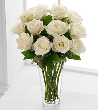 FTD White Rose Bouquet. Item Number: N20-4308