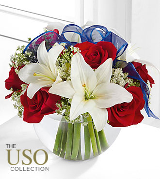 Flowers Fast coupon: Independence Bouquet