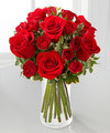 Red Romance Rose Bouquet by FTD