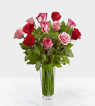 Flowers Fast coupon: True Romance   Rose Bouquet
