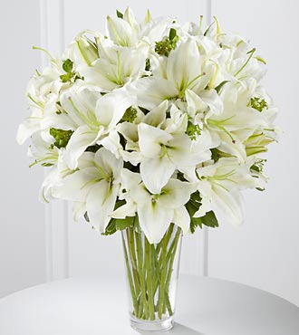 FTD Spirited Grace Lily Bouquet - DELUXE