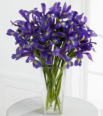 FTD Iris Riches Bouquet - DELUXE