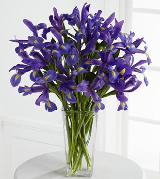 FTD Iris Riches Bouquet - PREMIUM