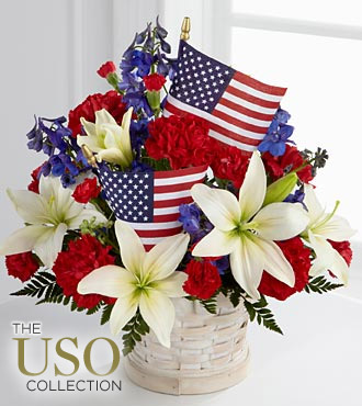 FTD American Glory Bouquet - DELUXE
