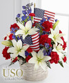 Image of Premium version for American Glory Bouquet