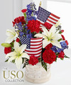 Image of Standard version for American Glory Bouquet