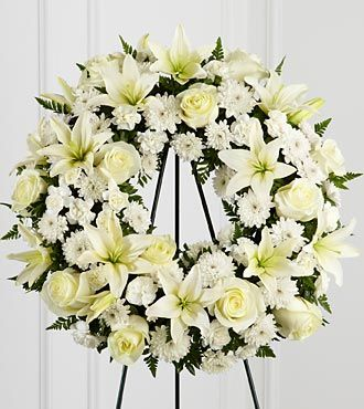 FTD Treasured Tribute Wreath - S3-4442