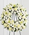 Image of Standard version for FTD Treasured Tribute Wreath