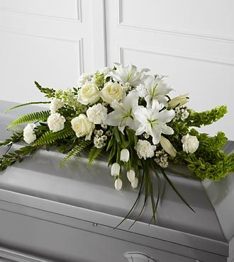 Flowers Fast coupon: FTD Resurrection Casket Spray