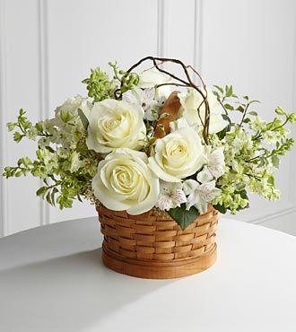 FTD Peaceful Garden Basket - DELUXE