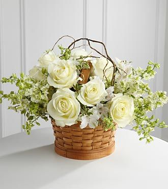 FTD Peaceful Garden Basket - PREMIUM