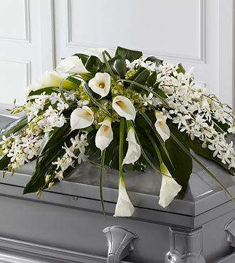 Flowers Fast coupon: FTD Angel Wings Casket Spray