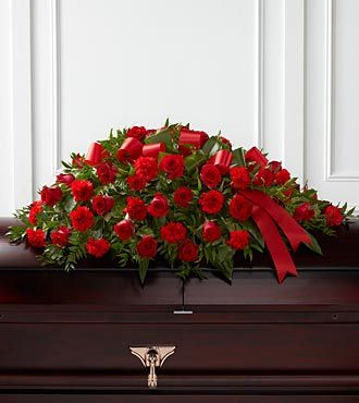 Flowers Fast coupon: FTD Dearly Departed Casket Spray