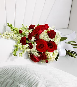 Flowers Fast coupon: FTD Forever in Our Hearts Casket Adornment