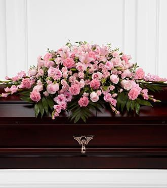 FTD Sweetly Rest Casket Spray - S20-4481
