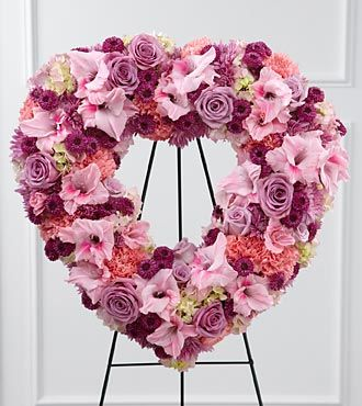 Flowers Fast coupon: FTD Eternal Rest Standing Heart