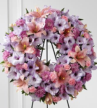 Flowers Fast coupon: FTD Sleep in Peace Wreath