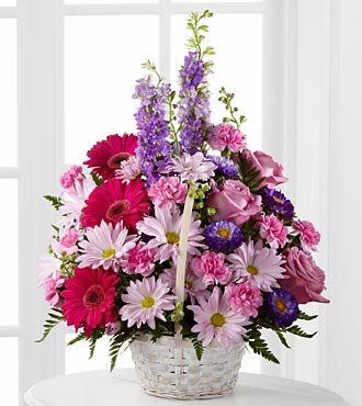 Flowers Fast coupon: FTD Pastel Peace Basket