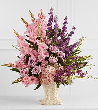 FTD Flowing Garden Arrangement