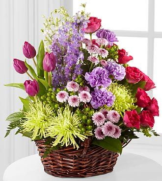 FTD Truly Loved Basket - DELUXE