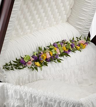 FTD Trail of Flowers Casket Adornment