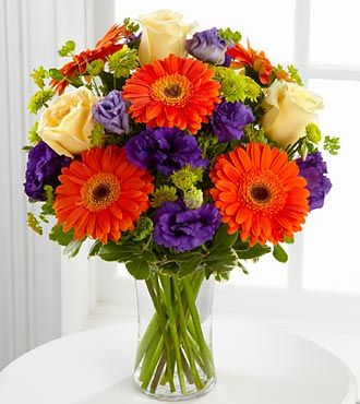 FTD Rays of Solace Bouquet - DELUXE