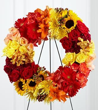 FTD Rural Beauty Wreath