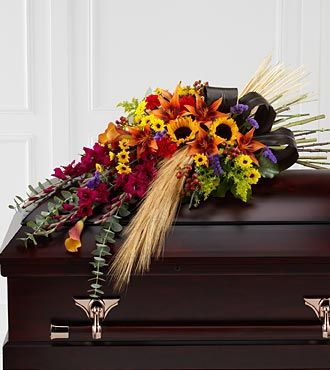 FTD Glorious Garden Casket Spray