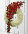 Image of Standard version for FTD Graceful Tribute Wreath