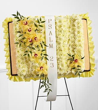 FTD Taken Too Soon Bible Easel - S48-4557