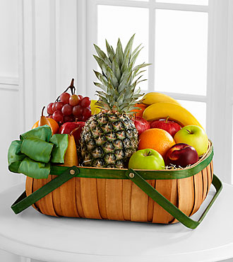 FTD Thoughtful Gesture Fruit Basket - DELUXE
