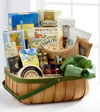 FTD Heartfelt Sympathies Gourmet Basket - DELUXE