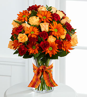 Ftd Golden Autumn Bouquet Deluxe Fall Amp Thanksgiving