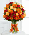 FTD Golden Autumn Bouquet  - DELUXE