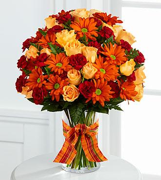 Ftd Golden Autumn Bouquet Premium Fall Amp Thanksgiving