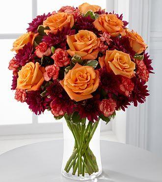 FTD Autumn Treasures Bouquet - DELUXE