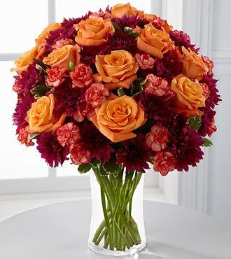FTD Autumn Treasures Bouquet - PREMIUM