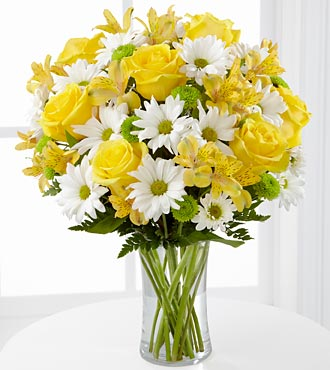 FTD Sunny Sentiments Bouquet - DELUXE