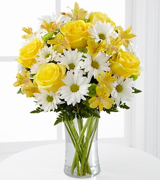 Sunny Sentiments Bouquet by FTD - C3-4793